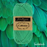 Scheepjes Catona 241 Parrot Green  - zöld - pamut fonal  - cotton yarn