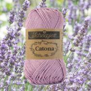 Scheepjes Catona 520 Lavender - halvány lila - pamut fonal  - cotton yarn
