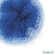 Scheepjes Whirl 553 Indigo Plane - blue - indigókék - keverék fonal - yarn cake