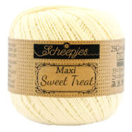 Scheepjes Maxi Sweet Treat 101 Candle Light - pamut fonal  - cotton yarn