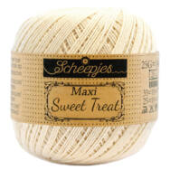 Scheepjes Maxi Sweet Treat Old Lace 130 - pamut fonal  - cotton yarn