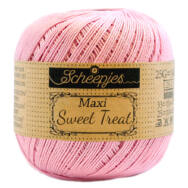 Scheepjes Maxi Sweet Treat 222 Tulip - pink pamut fonal  - pink cotton yarn