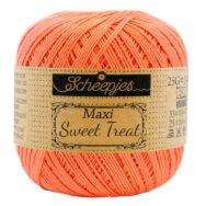 Scheepjes Maxi Sweet Treat 410 Rich Coral - korall szín pamut fonal - cotton yarn