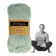 Scheepjes Namaste 625 Scale - kékes-szürke gyapjú fonal - buish-gray yarn blend