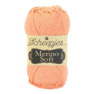 Scheepjes Merino Soft 642 Caravaggio - barackszín gyapjú fonal - peach yarn blend