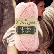 Scheepjes Merino Soft 647 Titian - halvány rózsaszín gyapjú fonal - light pink yarn blend