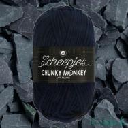 Scheepjes Chunky 1011 Slate - mélykék akril fonal - acrylic yarn - kep2