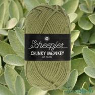 Scheepjes Chunky Monkey 1065 Sage - zsálya zöld akril fonal - warm-green acrylic yarn