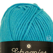 Scheepjes Chunky Monkey 1068 Turquoise - türkiz akril fonal - blue acrylic yarn