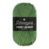 Scheepjes Chunky Monkey 1824 Pickle - ubi zöld akril fonal - warm-green acrylic yarn