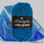 Scheepjes Chunky Monkey 2011 Ultramarine  - sötétkék akril fonal - blue acrylic yarn