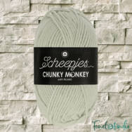 Scheepjes Chunky Monkey 2017 Stone - halvány drapp akril fonal - acrylic yarn - kep2