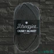 Scheepjes Chunky Monkey 2018 Dark Grey - sötétszürke akril fonal - acrylic yarn - kep2
