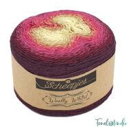 Scheepjes Woolly Whirl 478 - Creme Anglaise Centre - pamut-gyapjú fonal - yarn cake