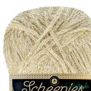 Scheepjes Twinkle 938 - csillogó bézs pamut fonal - glittering beige cotton yarn