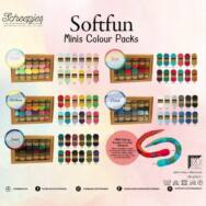 Scheepjes Softfun Color Pack - Cloud - 12 gombolyag fonal  - 12 balls of yarn