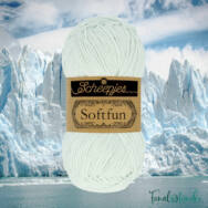 Scheepjes Softfun 2630 Arctic - light turquoise - halvány türkiz kék - pamut-akril fonal - yarn blend