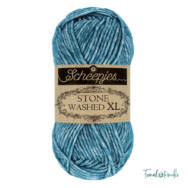 Scheepjes Stone Washed XL 845 Blue Apatit - pamut fonal - cotton yarn