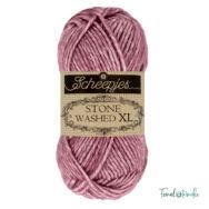 Scheepjes Stone Washed XL 848 Corundum Ruby - pamut fonal - cotton yarn