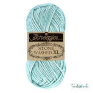 Scheepjes Stone Washed XL 853 Amazonite - pamut fonal - cotton yarn