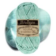 Scheepjes Stone Washed XL 868 Larimar -  pamut fonal - cotton yarn