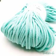 MILA Sznur cotton cord - light mint-green - pamut zsinórfonal - világos mentazöld - 5mm - kep2