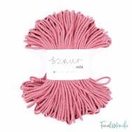 MILA Sznur cotton cord - old rose - pamut zsinórfonal - fáradtrózsaszín - 5mm