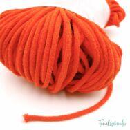 MILA Sznur cotton cord - vivid orange - pamut zsinórfonal - élénk narancssárga színű - 5mm