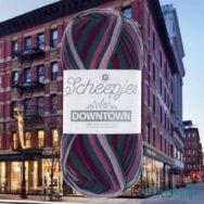 Scheepjes Downtown 416 East Avenue - lila-szürke gyapjú fonal - wool yarn blend