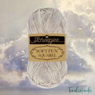 Scheepjes Softfun 804 Cloudescape - szürke-fehér - pamut-akril fonal - yarn blend