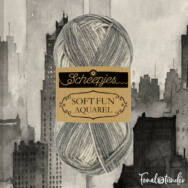 Scheepjes Softfun 806Cityscape - szürke-fehér - pamut-akril fonal - yarn blend