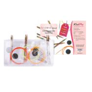KnitPro Symfonie - cserélehető végű körkötőtű szett- knitting needle set - 4-6mm