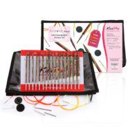 KnitPro Symfonie Delux - cserélehető végű körkötőtű szett- knitting needle set - 3.5-8mm