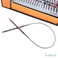 KnitPro Knit and Purr - cserélehető végű körkötőtű szett- knitting needle set - 3-8mm