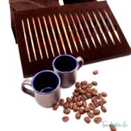KnitPro Knit and Coffee - cserélehető végű körkötőtű szett- knitting needle set - 3-8mm