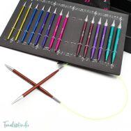 KnitPro Melodies of Life - cserélehető végű körkötőtű szett- knitting needle set - 3.5-8mm