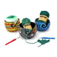 Mangófa Fonaltartó Tál - Mango Wood Yarn Bowl - 15cm