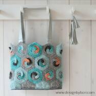 Hexa Bag - crochet pattern - Hatszög Táska - horgolásminta