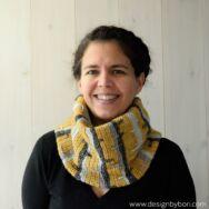 Deep Forest Cowl - crochet pattern - Őszi Erdő Sál - horgolásminta