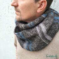 Stone Washed Scarf - knitting pattern - sál - kötésminta