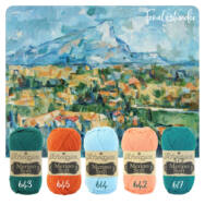 Cézanne Cowl - crochet pattern - Cézanne Sál - horgolásminta