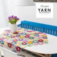 Scheepjes - Garden Room Tablecloth - Virágoskert Terítő - horgolásminta - crochet pattern