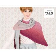 Scheepjes - Essence Shawl - Cseresznyéskert Vállkendő - kötésminta - knitting pattern