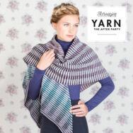 Scheepjes - CBTL Shawl - Intarzia Vállkendő - horgolásminta - crochet pattern