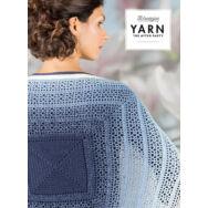 Scheepjes - Indigo Shrug - Indigókék Vállkendő - horgolásminta - crochet pattern