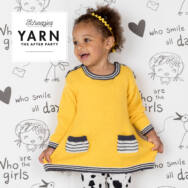 Scheepjes - Sunshine Dress - Napsugár Kisruha - kötésminta - knitting pattern