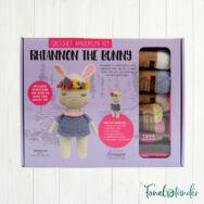 Ria a Nyuszi - horgolásminta + fonal csomag - Amigurumi - Ria the Bunny - crochet diy kit