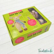 Lucy a Bárány - horgolásminta + fonal csomag - Amigurumi - Lucy the Lamb - crochet diy kit