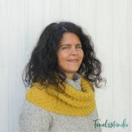 Mustár Körsál - kötés minta - Mustard Cowl -knitting pattern