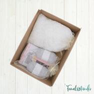 Szundi Mackó - horgolásminta + fonal csomag - Amigurumi Bear - crochet diy kit